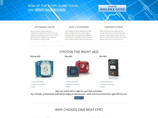 One Beat CPR + AED